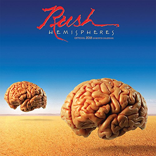 Rush 2018 12 X 12 Inch Monthly Square Wall Calendar By Bravado, Music Progressive Rock Band