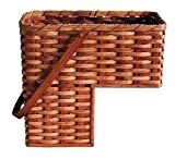 amish baskets and beyond - Amish Handmade Step Basket w/Swinging Handle IN NATURAL