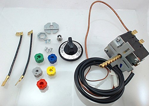 en Thermostat for Whirlpool, Kenmore, and Other Top Brands (Universal) (Stoves Oven Thermostat)