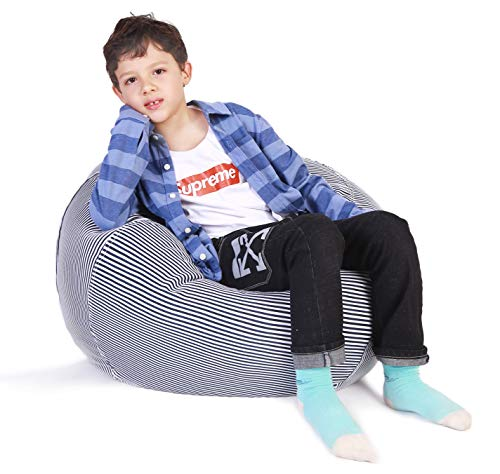 Superb Stuffed Animal Storage Bean Bag Chair Bean Bag Cover For Andrewgaddart Wooden Chair Designs For Living Room Andrewgaddartcom
