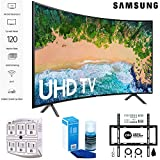 Samsung 65NU7300 65' NU7300 Smart 4K UHD TV 2018 with Wall Mount + Cleaning Kit (UN65NU7300)