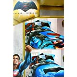 Batman Vs Superman Twin Comforter and Sheet Set
