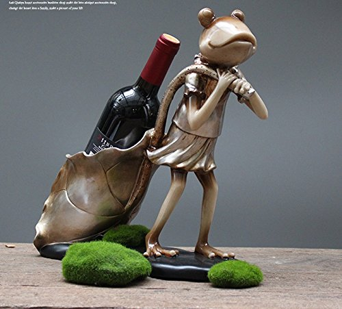 European luxury frog wine rack dining room restaurant wine cabinet jewelry ornaments zj0125947 by Supper pp