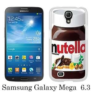 WOSN nutella White Case Cover for Samsung Galaxy Mega 6.3 i9200 i9205