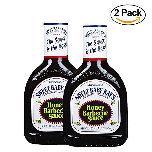 Sweet Baby Ray's Honey Barbecue Sauce - 28 oz - 2 Pack