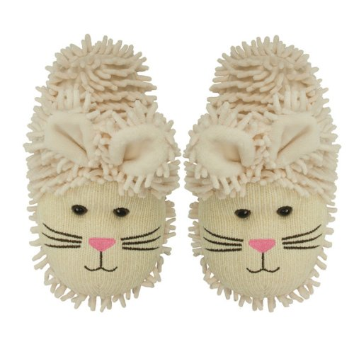 Aroma Home Adult Bunny Rabbit Fuzzy Friends Warm Slippers - Fuzzy Bunny Costume