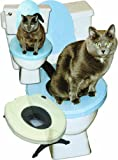 Feline Evolution CatSeat Cat Toilet Training Seat, White
