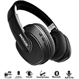 Wohome Active Noise Cancelling Headphones Bluetooth Wireless Over-ear Stereo Headphone with Mic and Volume Control