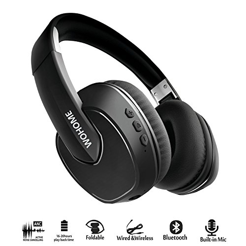 Wohome Active Noise Cancelling Headphones Bluetoot...