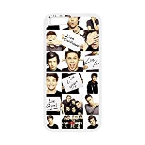 Custom High Quality WUCHAOGUI Phone case One Direction Music Band Protective Case For Apple iphone 4 4s,