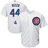 Chicago Cubs Anthony Rizzo #44 MLB Majestic Mens Cool Base Player Jersey Big And Tall Sizes