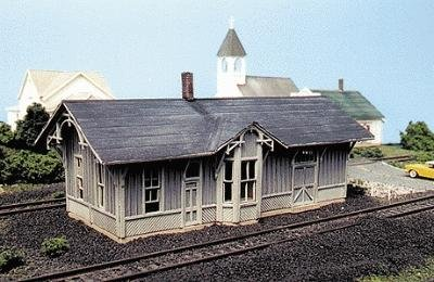 Blair Line N-Scale Laser-Cut Kit #085: C&O Depot Std #1