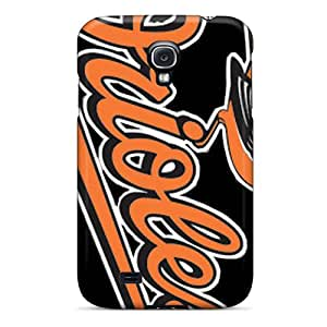 Premium Tpu Baltimore Orioles Cover Skin For Galaxy S4