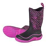 Muck Hale Prints Baby Girls Pink Zebra Outdoor Sport Boots Waterproof 7 M Us Todller