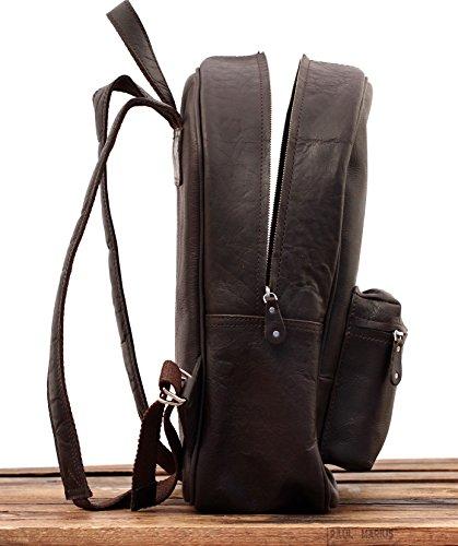 LE MARIOL Indus Bolso mochila de cuero satchel escuela PAUL MARIUS