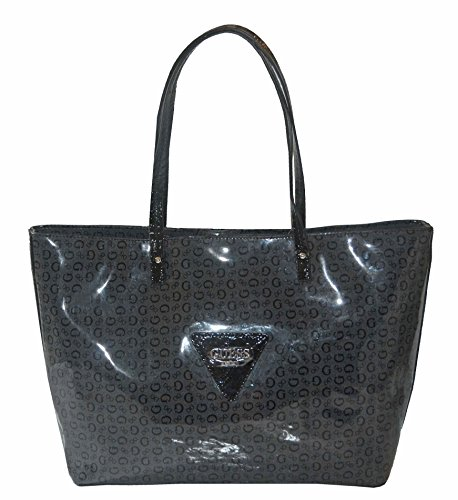 GUESS Signature Patent Liberate Tote Bag Handbag Purse - Shopping Guess Online Outlet