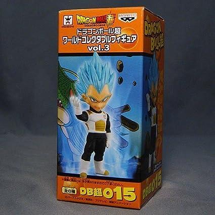 Movie Dragon Ball super-World Collectible Figure vol.1 Vegeta Super Saiyan God