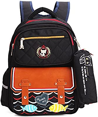 1ba94828f34d Amazon.com | Kids School Bags Backpack for Girls and Boys with ...