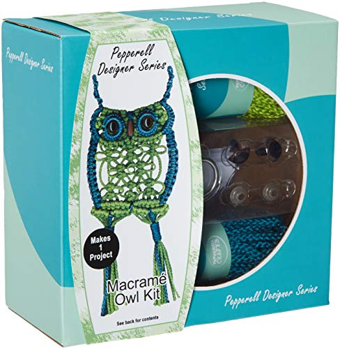 Pepperell Braiding Co. PDS05 Macrame Designer Kit Owl ()