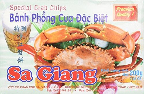 (Giant Crab Flavored Shrimp Chips)