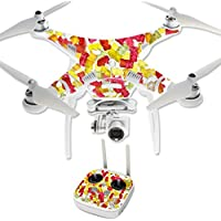 Skin For DJI Phantom 3 Professional – Gummy Bears | MightySkins Protective, Durable, and Unique Vinyl Decal wrap cover | Easy To Apply, Remove, and Change Styles | Made in the USA
