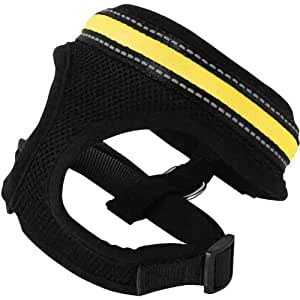 SafetyGlo Harness, Small, Yellow