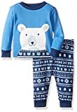 The Children's Place Boys' Long Sleeve Top and Pants Pajama Set