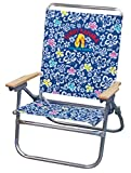 Tommy Bahama Easy In / Easy Out Beach Chair Blue Print