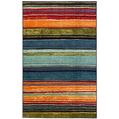 Mohawk Home New Wave Rainbow Printed Rug, 8'x10', Multi by Mohawk Home (Image #3)
