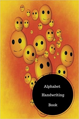 Alphabet Handwriting Book: Kindergarten Alphabet Writing ...