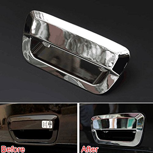 UltaPlay Car Rear Trunk Tail Door Handle Bowl Cover Trim Fit for Jeep Grand Cherokee 2011-2015 Car accessories Styling