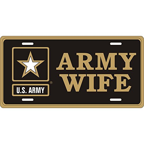 Honor Country Army Wife License Plate, Army -