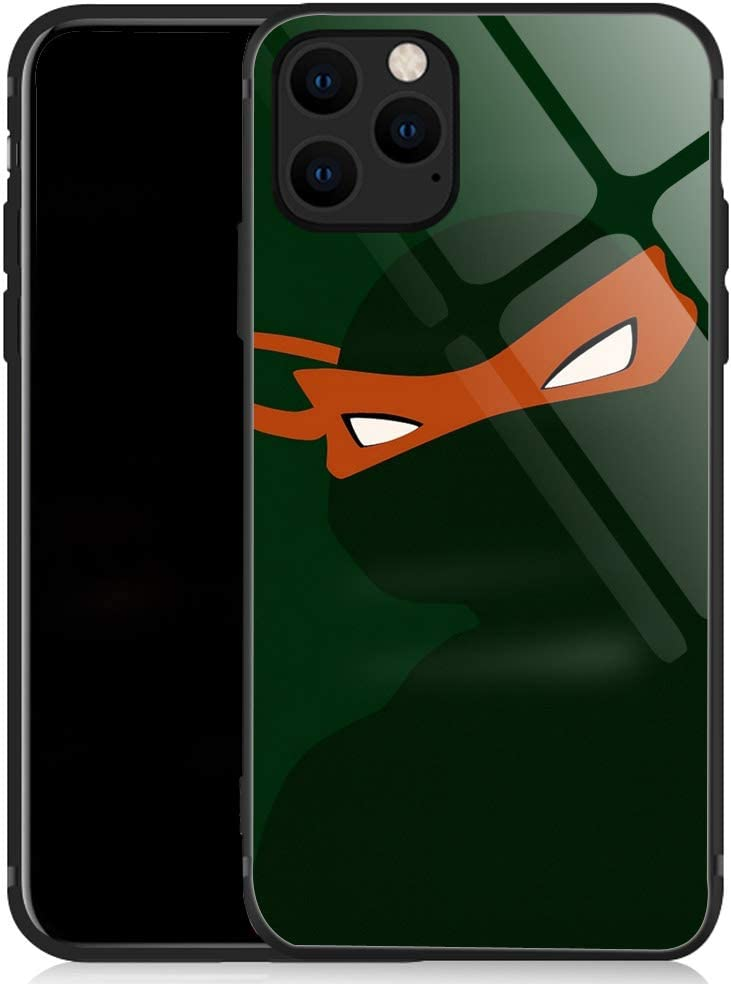 iPhone 11 Pro Max Case,Sharp Eyes and Blindfold iPhone 11 Pro Max Cases for Girls Men Boy,Shockproof Non-Slip Tempered Glass Pattern Design Case for Apple 11 Pro Max 6.5-inch