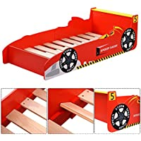 Item Valley Kids Race Car Bed Toddler Bed Boys Child Furniture Bedroom Red Wooden New