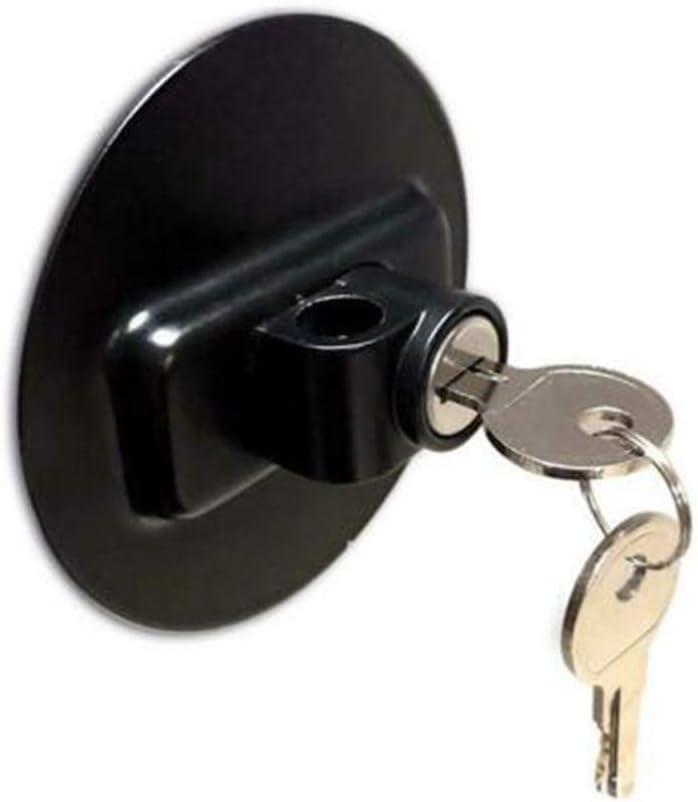 Black Child Safety Lock Window Refrigerator Safety Limit Lock for File Drawer Lock Freezer Door Lock and Child Safety Cabinet Lock oldeagle Refrigerator Key Lock