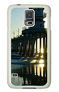Samsung Galaxy S5 Case,Samsung Galaxy S5 Cases - Huntington Beach Custom Design Samsung Galaxy S5 Case Cover - Polycarbonate¨CWhite