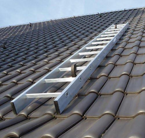 Kaminkehrerleiter Dachleiter Aluminium 29 Sprossen 8,12m