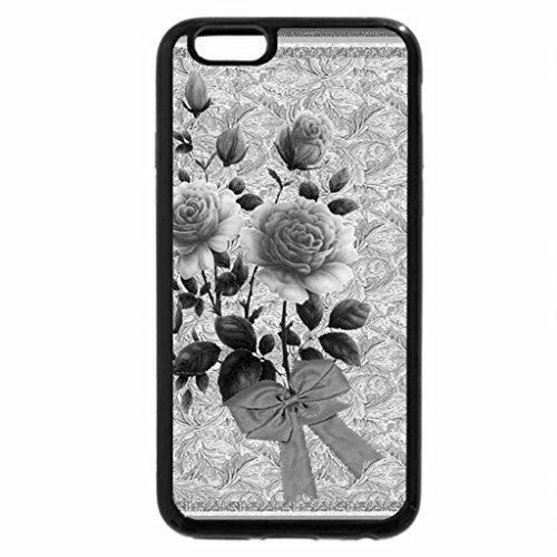 iPhone 6S Plus Case, iPhone 6 Plus Case (Black & White) - EVERYTHING'S COMING UP ROSES!