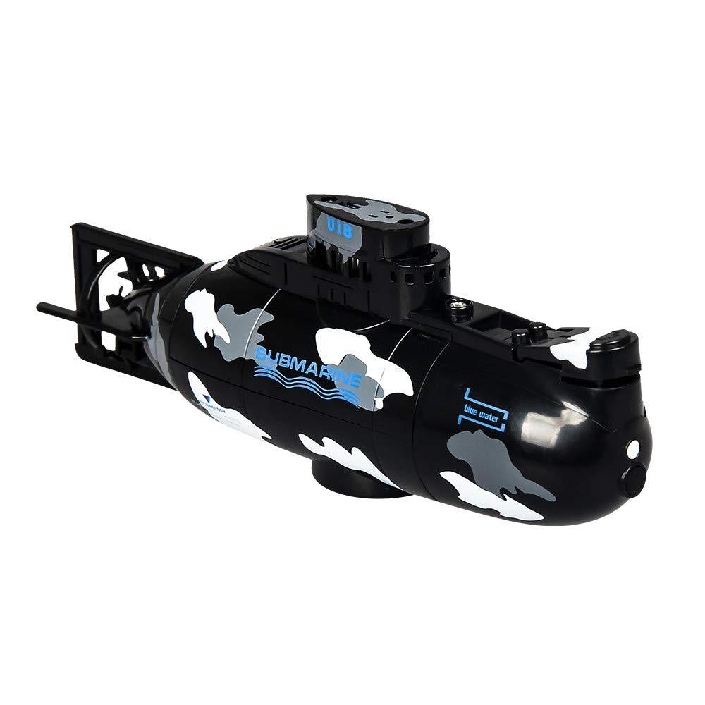 Kids Toys!JPLZi Mini RC Nuclear Submarine High Speed Remote Control Drone Children's Gift (Black)