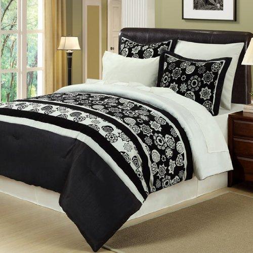 UPC 021166834452, Dena 8 Piece Comforter Set- California King Comforter Set