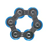 FidgetWorks Rollie Pollie Fidget Toy - Great for Autism, ADD, ADHD, Stress & Anxiety - Blue