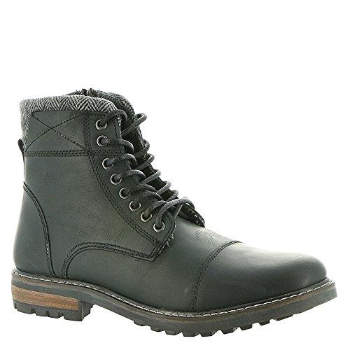 Image of Crevo Men's Camden Black Leather 8.5 M US