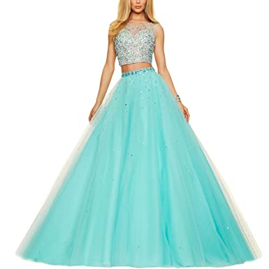 5377a1bcaf70 NaXY Two Piece Quinceanera Dresses for Girls Vestidos DE 15 anos ...