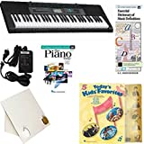 Homeschool Music - Learn to Play the Piano Pack (Todays Kids Favorites Book Bundle) - Includes Casio CTK 2550 Keyboard w/Adapter, learn 2 Play DVD/Book, Books & All-Inclusive Learning Essentials