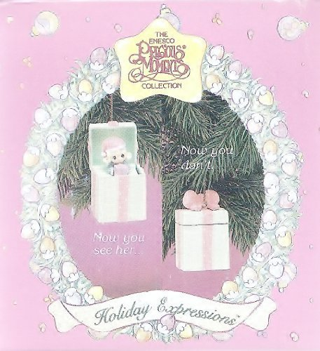 Precious Moments Little Girl Pop-up Christmas Ornament 1993 by Precious Moments - Precious Moments Ball
