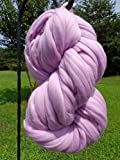 Lavish Lavender Wool Top Roving Fiber Spinning, Felting Crafts USA (4lb)