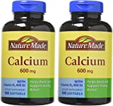 Nature Made Calcium 600 Mg with Vitamin D 100