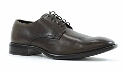 Johnston & Murphy Men's Birchett Plain Toe Oxford,Dark Brown Calfskin ...