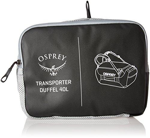 Osprey Transporter 40 Borse da viaggio nero