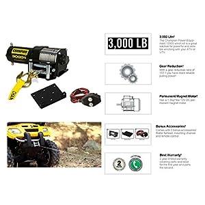 Champion Fullfillment CMF13005 Champion Power Winch Kit (3,000 lb)